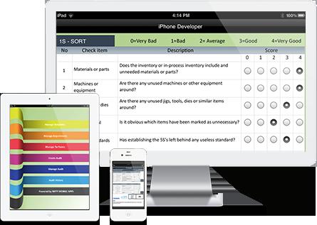5s audit software, 5s System