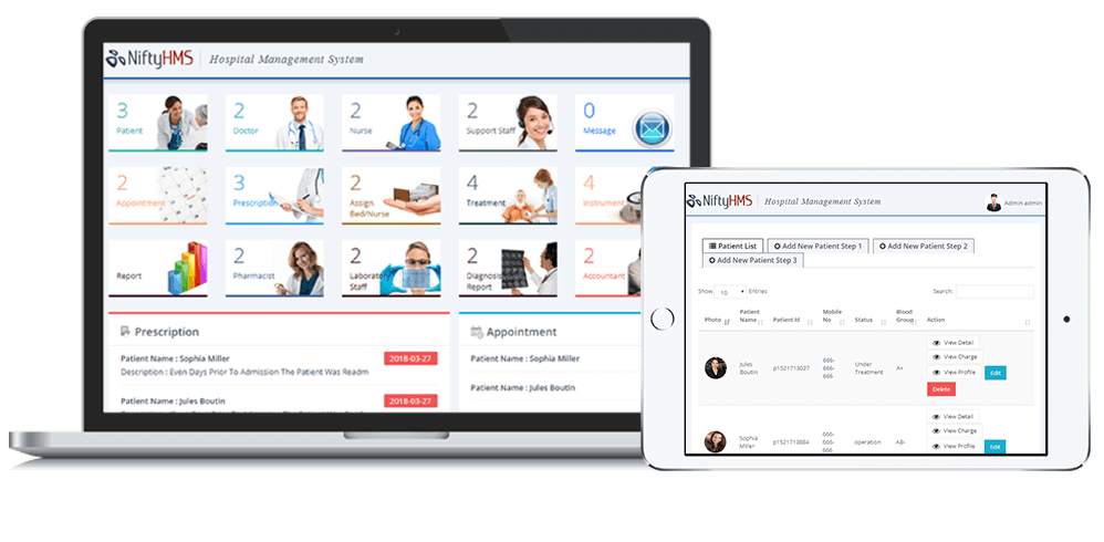 Hospital Management software