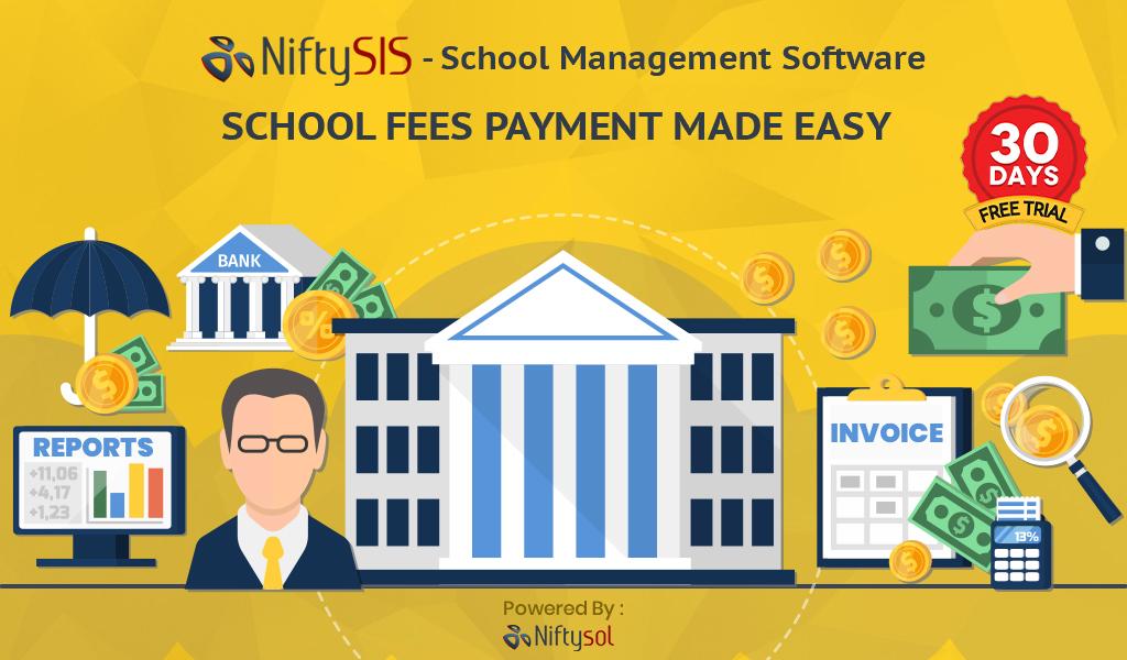 Online School Fees ERP  system