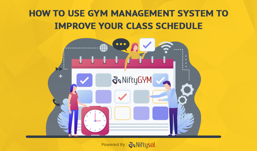 gym Class Schedule software | gym management system